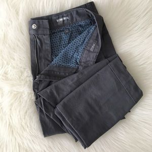 New Bonobos Washed Chinos Chino Pants 30 Gray NWOT